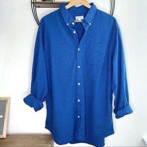 GAP Standard Fit Button Shirt in Colornial Blue